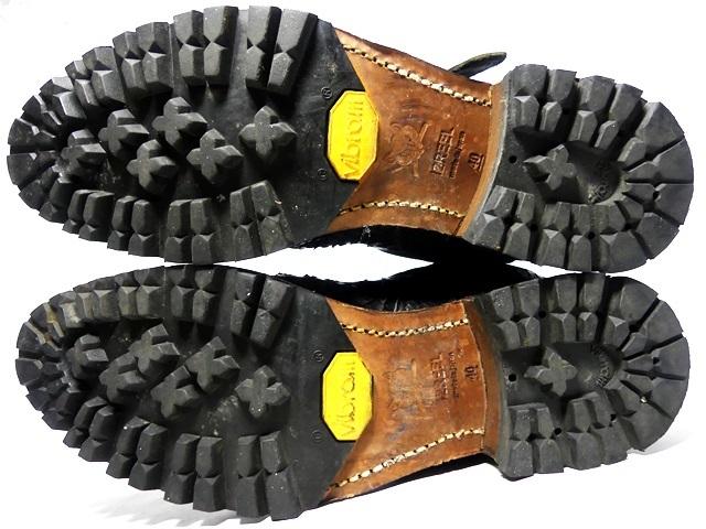 即決★IZREEL★25cm レザーエンジニアブーツ イズリール メンズ 40 黒 ブラック 本革 ベルト 本皮 ヒール 型押し タカクラカズヒロ_画像5