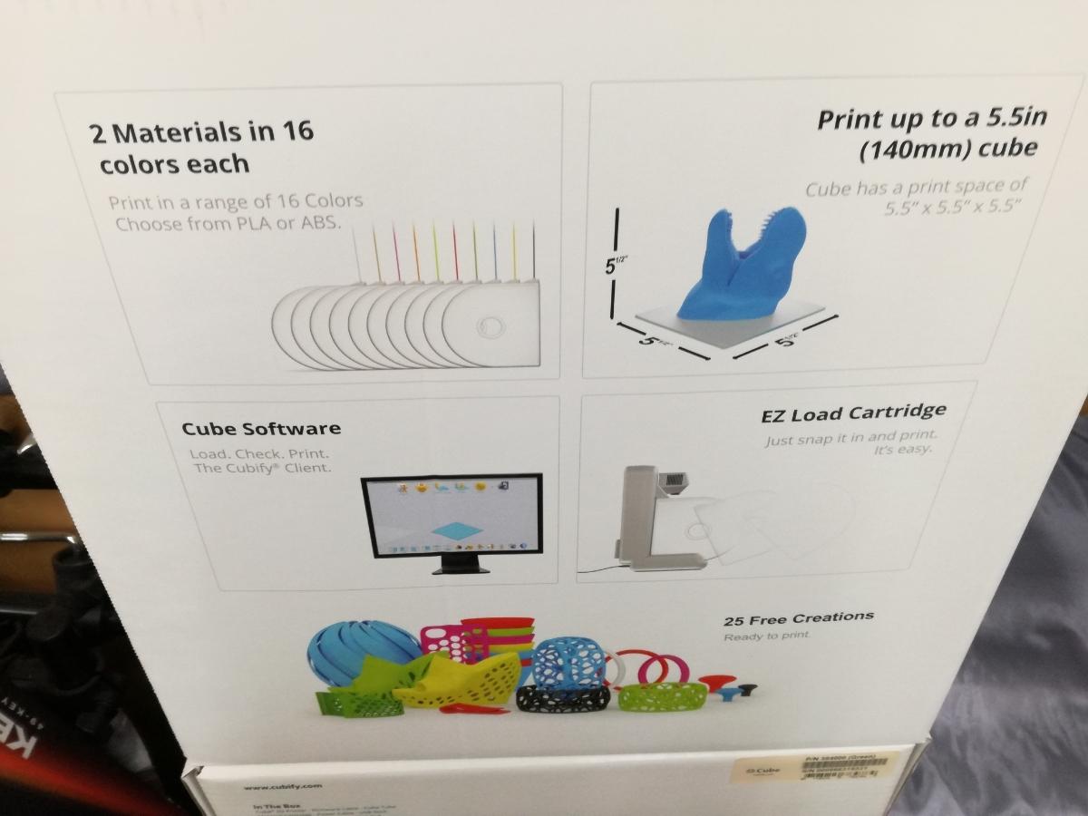 J701 新品 送料無料 Cube 3Dプリンター 2nd Generation グリーン 自作 シンプル DIY 工作 3Dプリンタ本体 Wi-Fi接続可能_画像3