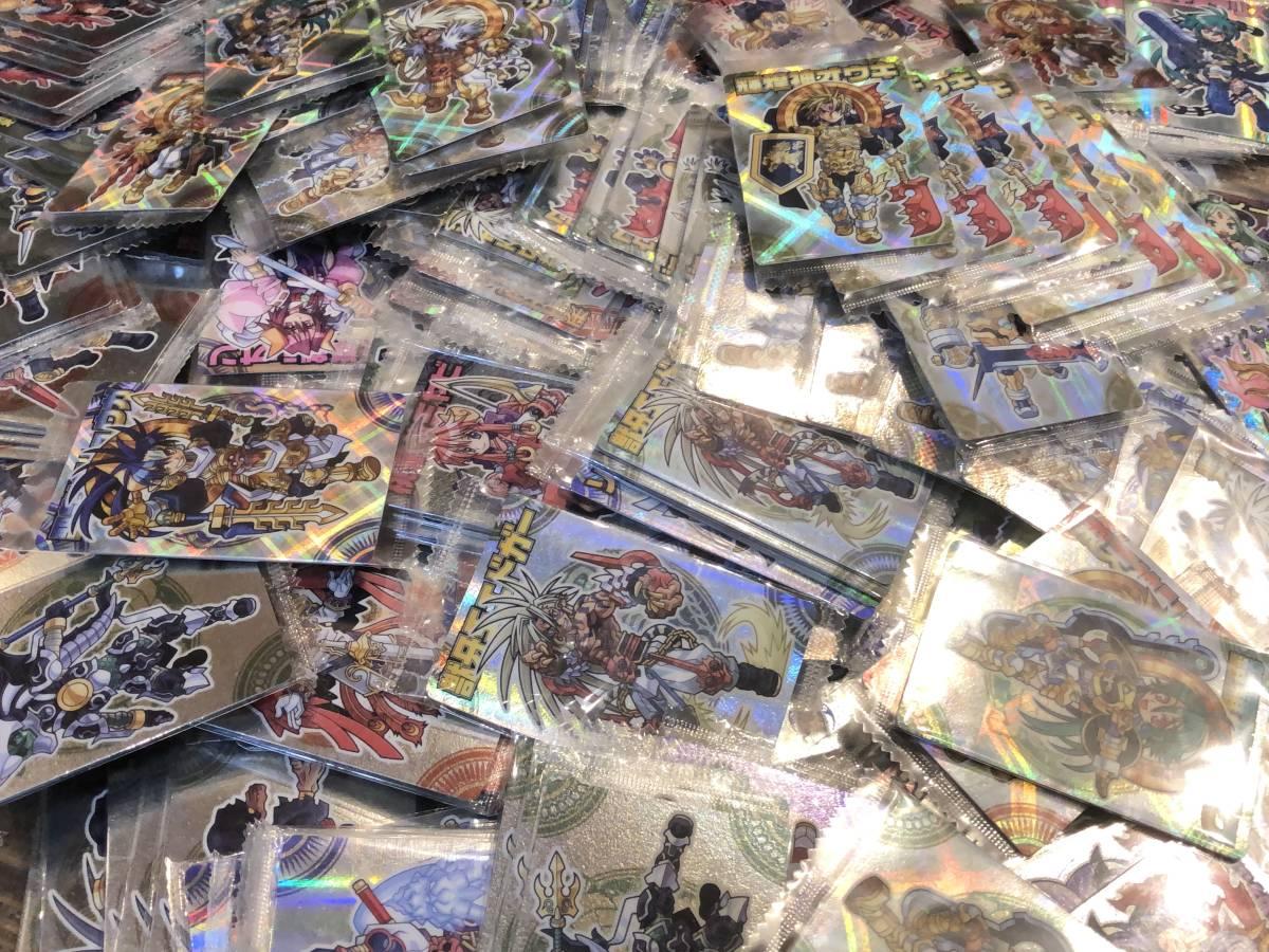 【未開封】大量まとめ売り!400枚以上 全てレア 神羅万象チョコ カード レア ホログラム シルバー SP 第1章 第2章 レアカードのみ _画像6