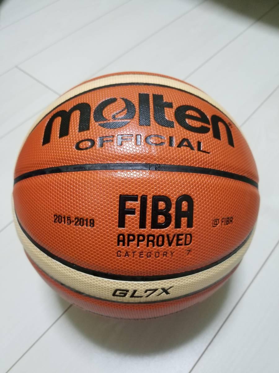 未使用品 モルテン molten バスケットボール 7号 12面 GL7X タイ製 人工皮革