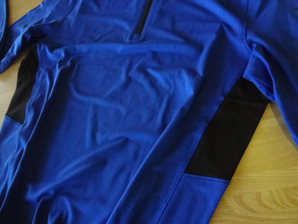 ☆☆Rファウラー 【ブルー S】 PUMA Rotation 1/4zip コブラ特注刺繍入り プルオーバー ドライセル プーマ 新品_画像4