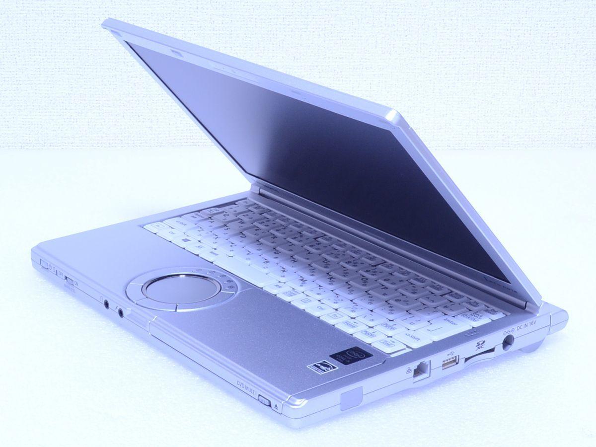 【超ハイスペックPC】Panasonic Let's note CF-SX4★Core i5★DDR3L 8GB★新品SSD512GB★DVDスーパーマルチ Bluetooth Win10 管理番号A0155_画像6