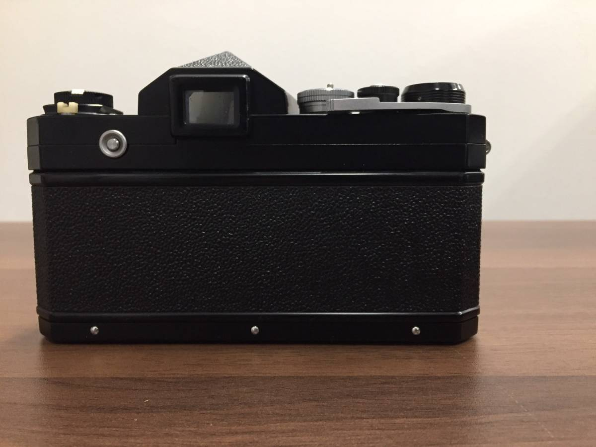 ◆◇a3291 Nikon F カメラ本体 レンズ付き 6876171 レンズ 28mm 1:3.5 ニコン フィルムカメラ レンズ+2点付◇◆_画像2