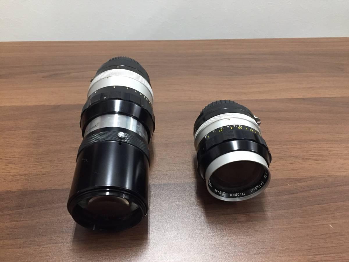 ◆◇a3291 Nikon F カメラ本体 レンズ付き 6876171 レンズ 28mm 1:3.5 ニコン フィルムカメラ レンズ+2点付◇◆_画像5