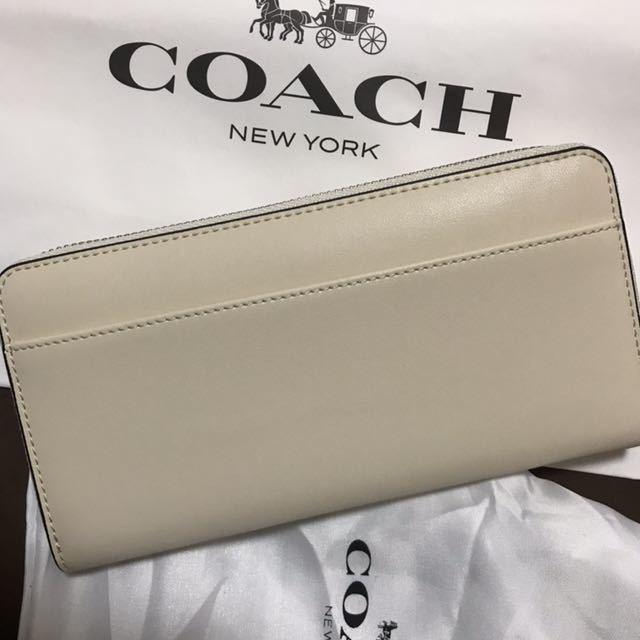 69326a41086b 代購代標第一品牌- 樂淘letao - コーチ長財布新品coach 白ホワイトスヌーピー