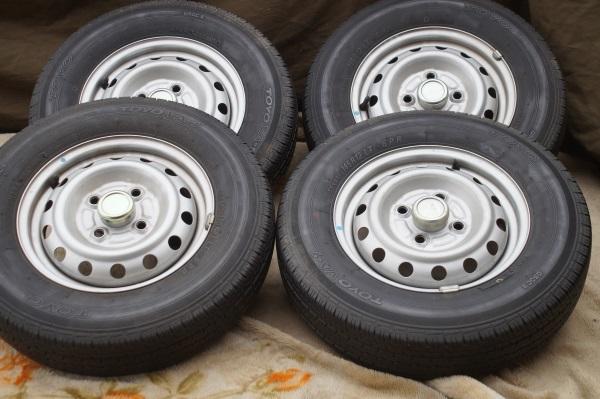 車検用 軽トラック スチールホイール 3.5JX12 トーヨー VA-1 145R12 6P 4本セット 送料 全国一律 宮城県名取市~