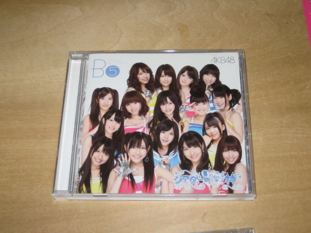 AKB48 TeamB 5th studio Recording シアターの女神 CD _画像1