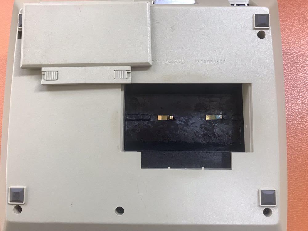 超レア★HP RPN入力 関数電卓「HP 97」ジャンク ACアダプタ付き キャリングケース付き YOKOGAWA HEWLETT PACKARD ヒューレットパッカード_画像5