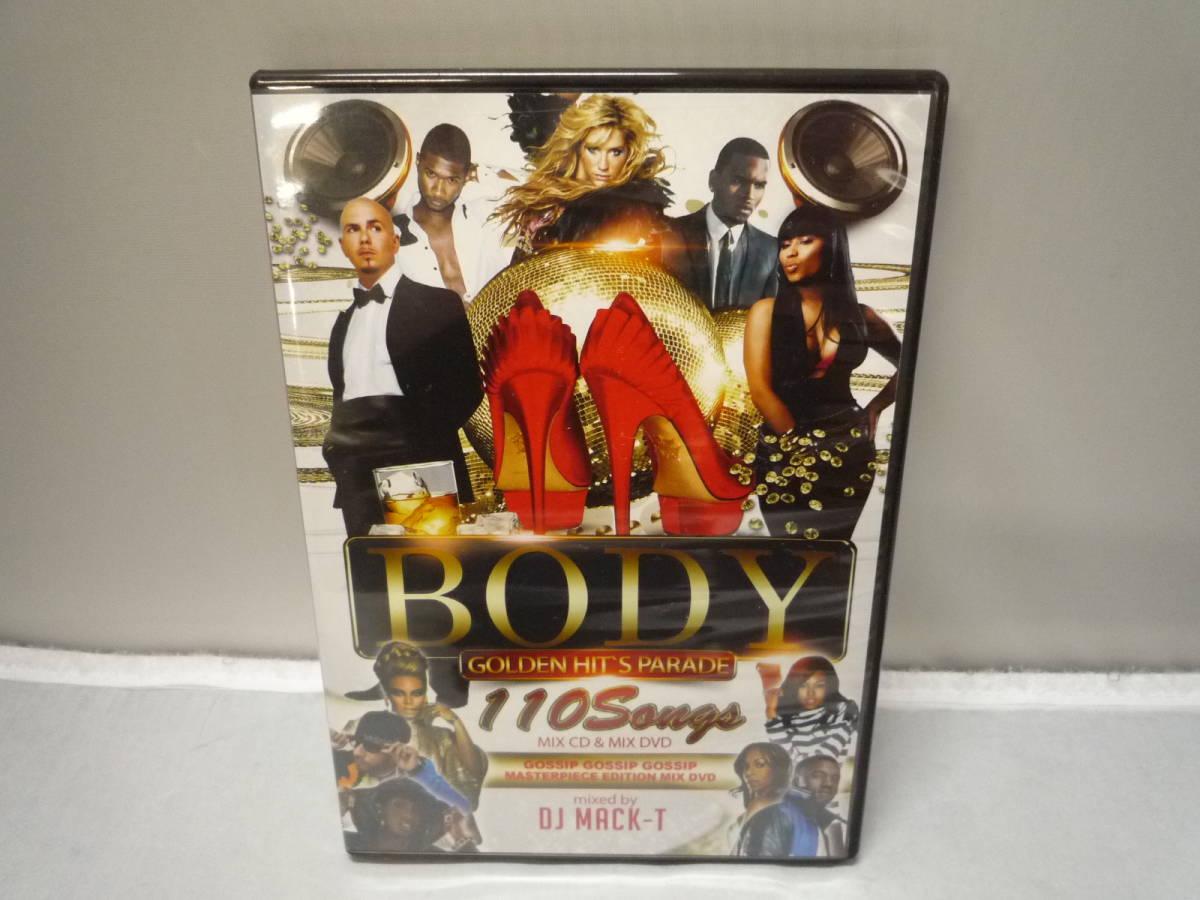 ☆DVD CD DJ MACK-T BODY GOLDEN HIT'S PARADE レゲエ ヒップホップ R&B CD+DVD 中古_画像1