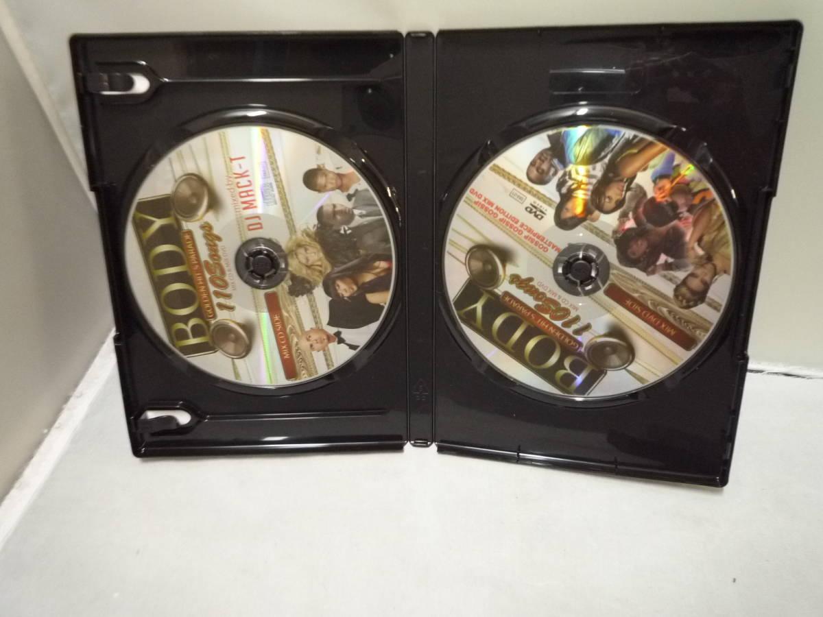 ☆DVD CD DJ MACK-T BODY GOLDEN HIT'S PARADE レゲエ ヒップホップ R&B CD+DVD 中古_画像3