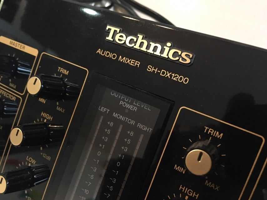 Technics Technics SH-DX1200 moveable goods power cord attaching 1990 period made in Japan black body