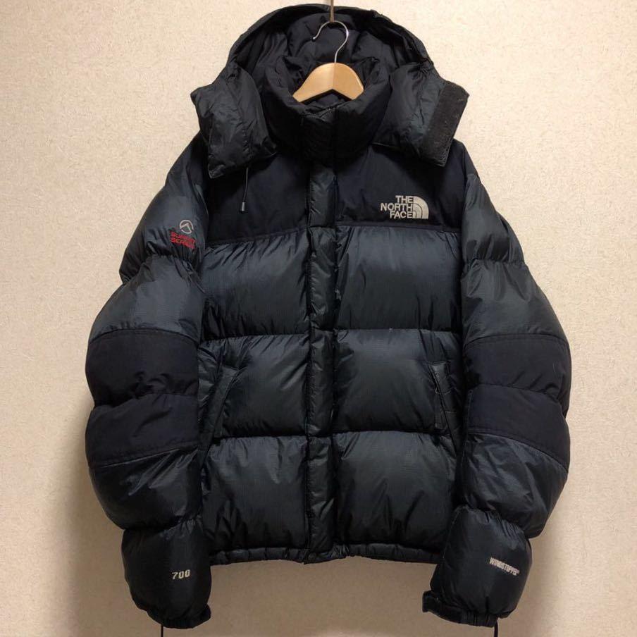 6b07c860a North Face down jacket men's L size regular goods black black ...