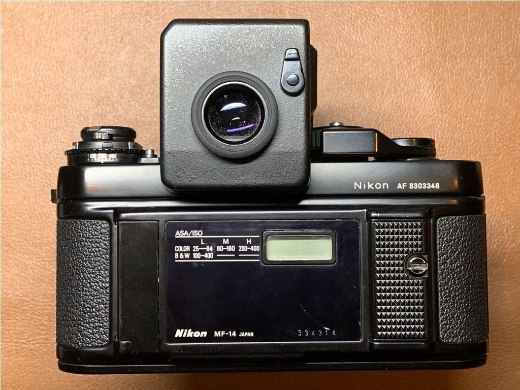 NIKON F3 AF + AF-NIKKOR 80mm 1:2.8 動作品_画像2