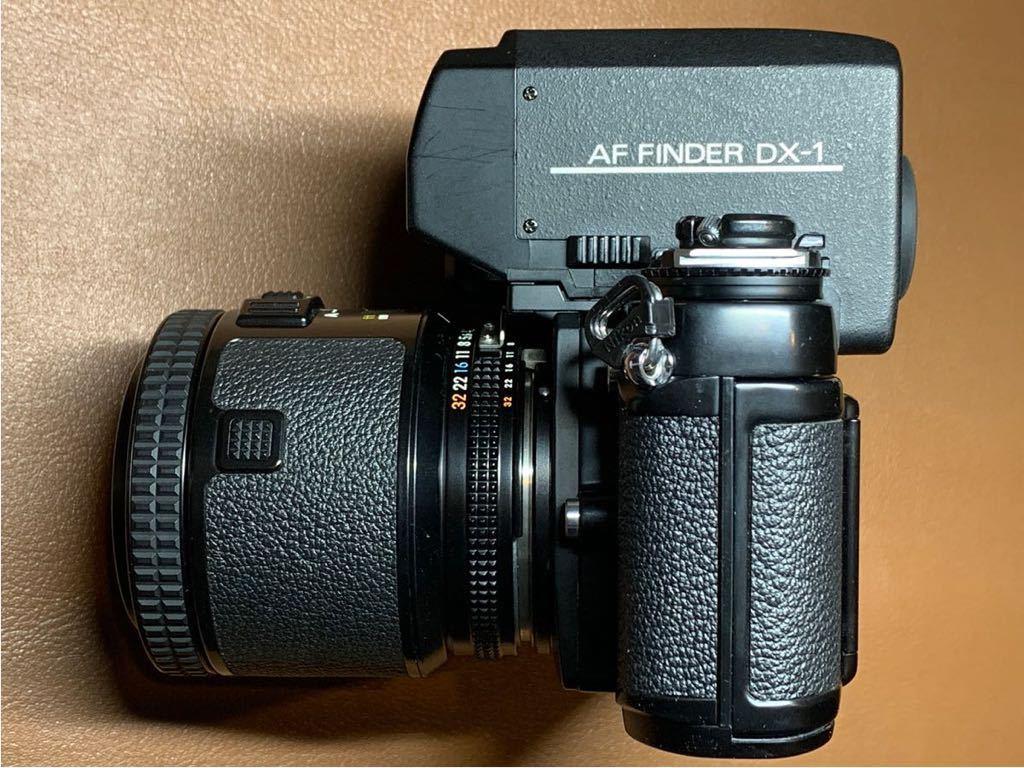 NIKON F3 AF + AF-NIKKOR 80mm 1:2.8 動作品_画像4