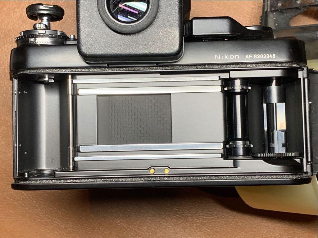 NIKON F3 AF + AF-NIKKOR 80mm 1:2.8 動作品_画像8