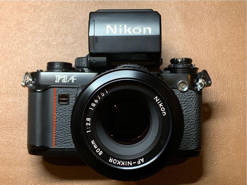 NIKON F3 AF + AF-NIKKOR 80mm 1:2.8 動作品