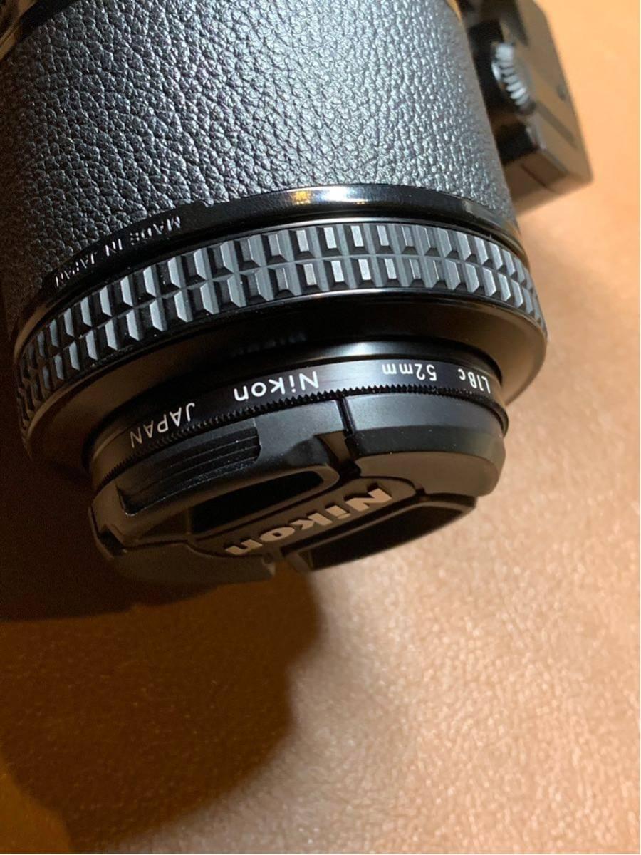 NIKON F3 AF + AF-NIKKOR 80mm 1:2.8 動作品_画像7
