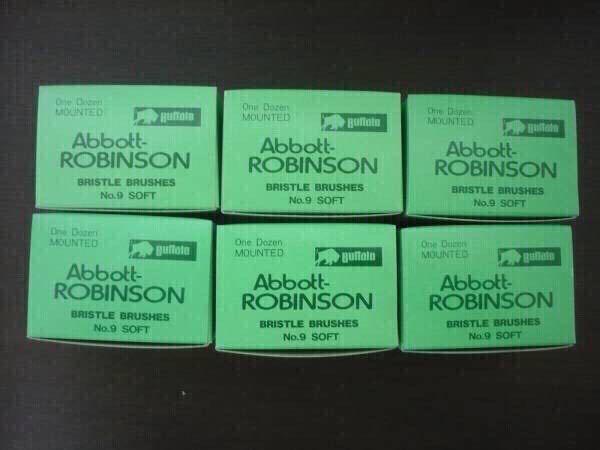 歯科技工 バッファロー ロビンソンブラシ No.9 12本入り6箱