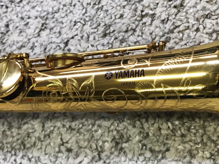 【初期】YAMAHA YSS-62 ソプラノサックス + Selmer CS80マウスピース ヤマハ Vintage シリアル 06xx 600番台 現状品♪_画像6