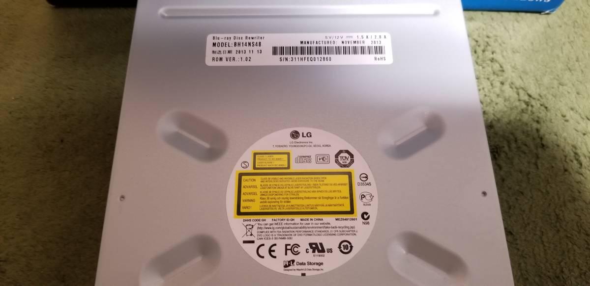 LG製内蔵BDドライブ BH14NS48 自作PCを等に SATA_画像5