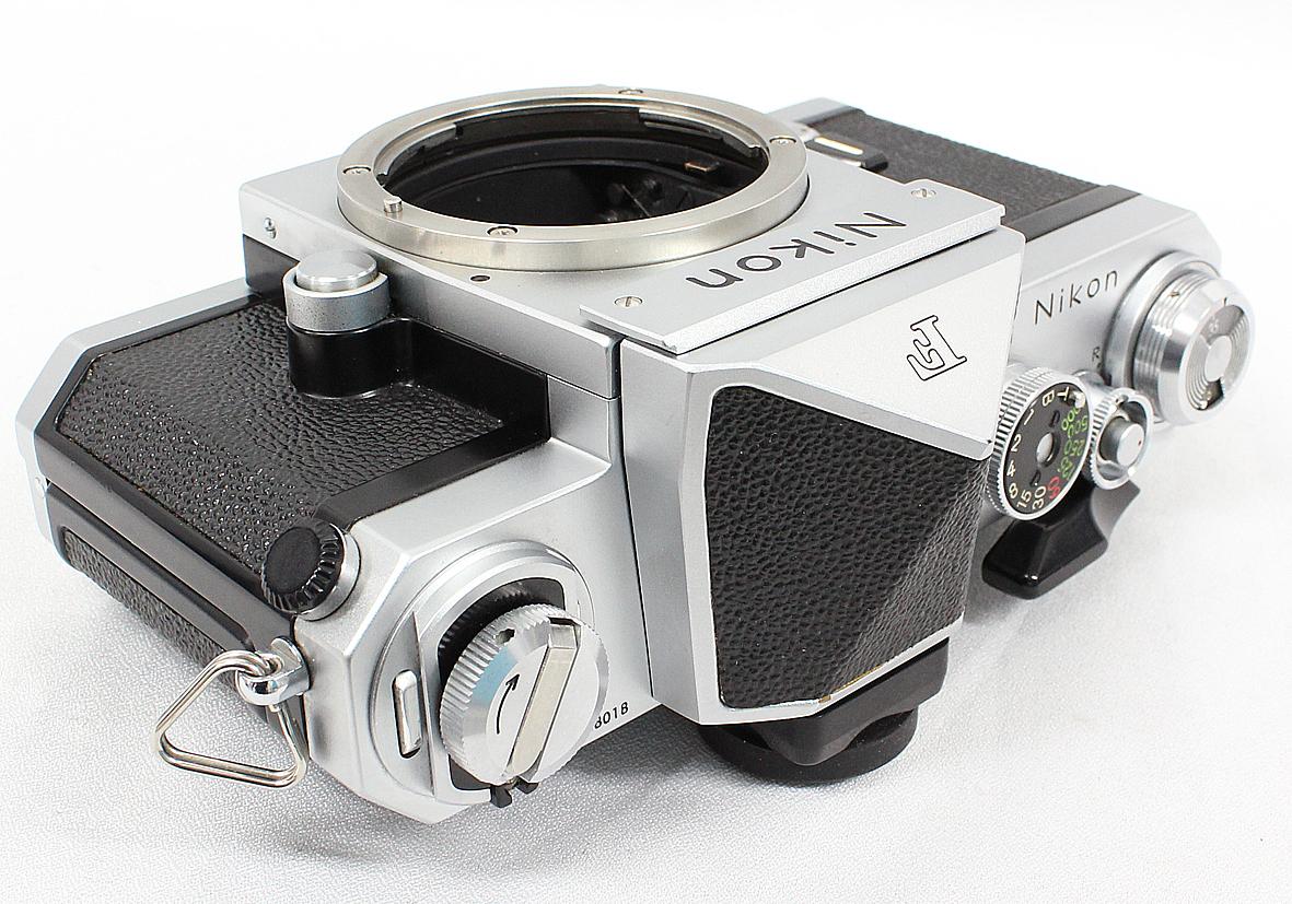 Nikon ニコン F アイレベルファインダー シルバー ボディ 難有り品_画像2
