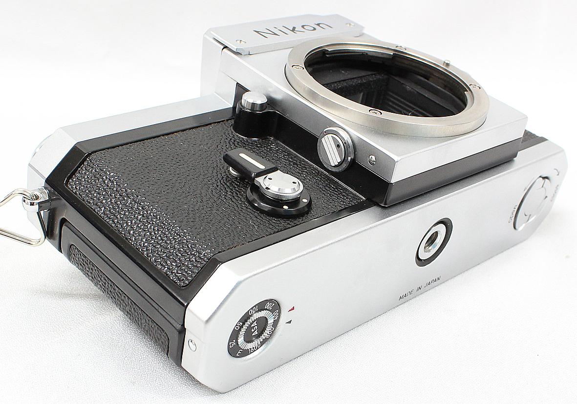 Nikon ニコン F アイレベルファインダー シルバー ボディ 難有り品_画像3