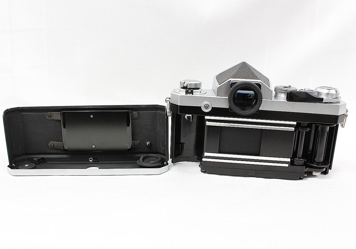 Nikon ニコン F アイレベルファインダー シルバー ボディ 難有り品_画像5