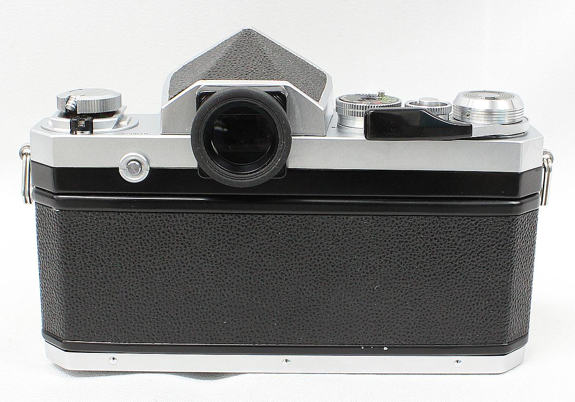Nikon ニコン F アイレベルファインダー シルバー ボディ 難有り品_画像4