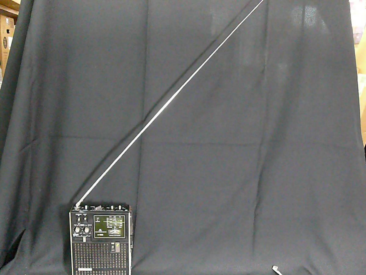 【レトロ・アンティーク】 SONY ソニー ICF-5500 スカイセンサー 3バンドレシーバー FM/MW/SW(BCLラジオ)ジャンク品_画像6