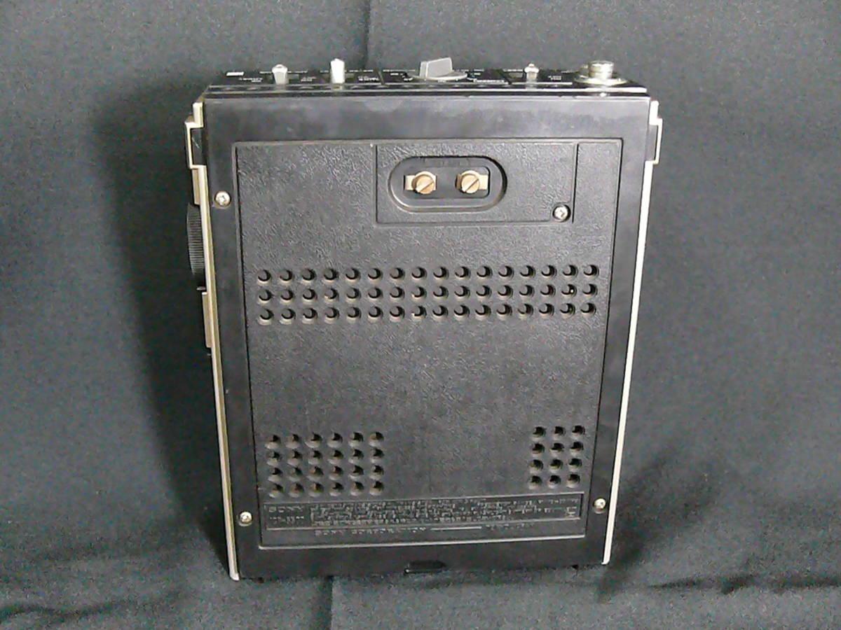 【レトロ・アンティーク】 SONY ソニー ICF-5500 スカイセンサー 3バンドレシーバー FM/MW/SW(BCLラジオ)ジャンク品_画像7