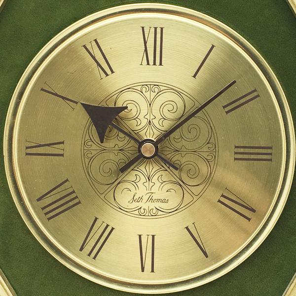 送料無料 アンティークウォールクロック SETHTHOMAS/ヴィンテージ壁掛け時計アメリカ製ミッドセンチュリー大正ロマン古民家古道具50s60s70s_画像3