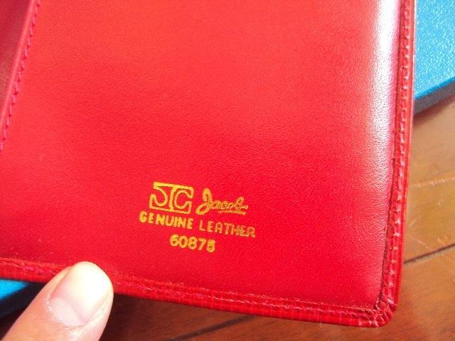 &未使用品!Jacobの革製の財布!_画像4
