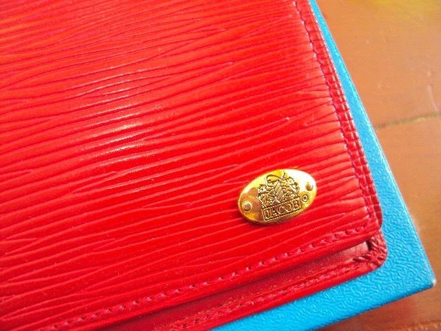 &未使用品!Jacobの革製の財布!_画像2
