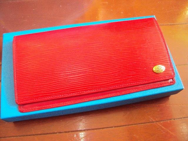 &未使用品!Jacobの革製の財布!_画像1