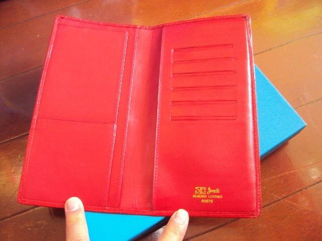&未使用品!Jacobの革製の財布!_画像3