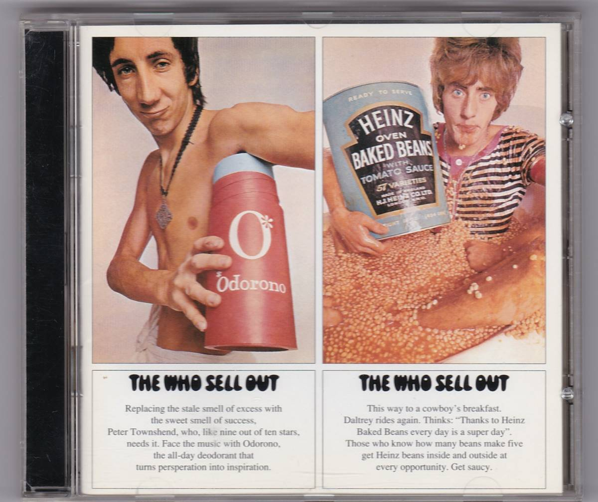 The Who / Sell OUT ザ・フー セイルアウト 輸入盤 中古CD