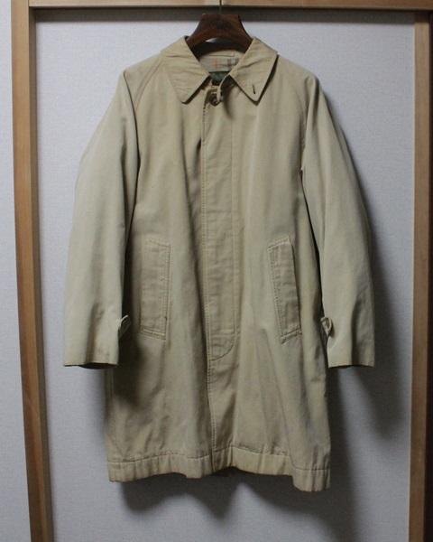 ビンテージ VAN JACヴァンジャケット 一枚袖 ステンカラーコート/トレンチコート バーバリーKENTケント_画像2