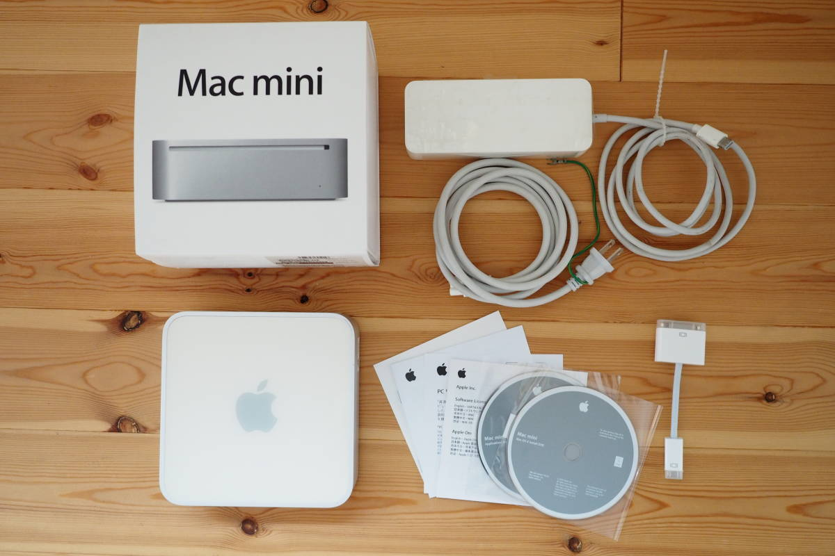 Mac mini(Early 2009) HDD→SSD replacement,memory 1G→4G expansion,10.11.6(El Captain),full moving parts