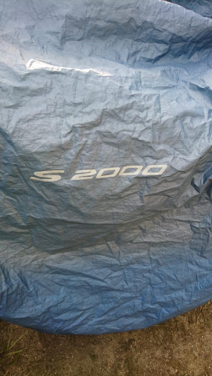 S2000のロゴ入りです