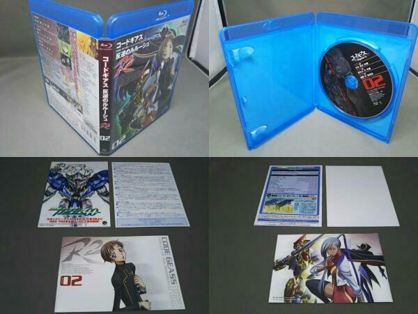 コードギアス 反逆のルルーシュ R2 volume01と02の2点セット(Blu-ray Disc)_画像3