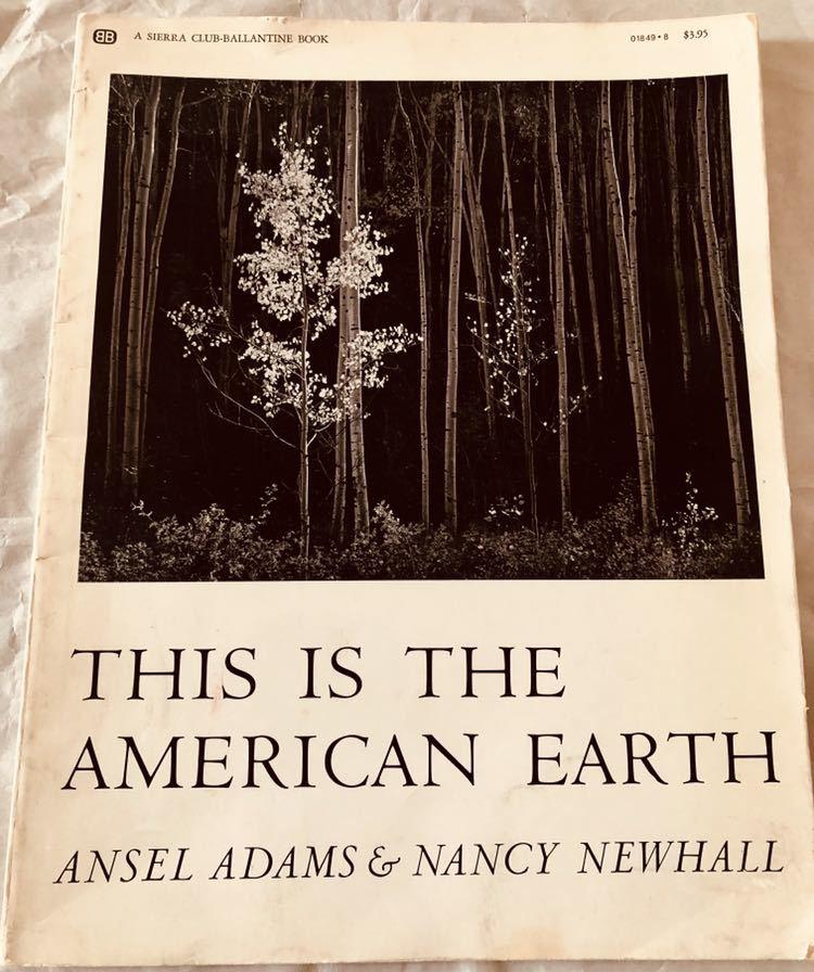 【洋書】 アンセル・アダムス写真集 Ansel Adams シエラクラブ「This Is the American Earth」自然 ・風景写真_画像1