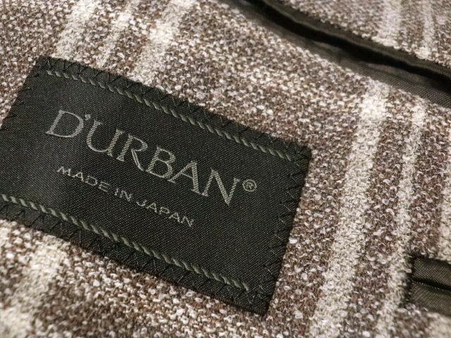 ■DURBAN/ダーバン■春夏 上質 四者混ツイードジャケット 日本製【AB5】8.5万_画像7