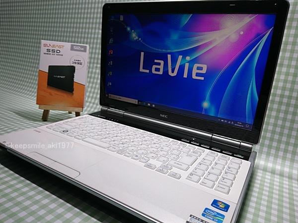 ★美品★ Core i7 【新品SSD】512G 【超快速仕様☆Windows10】NEC LL750/E PC-LL750ES6W メモリ8G BD-RE Office 高音質YAMAHA音源 1円~
