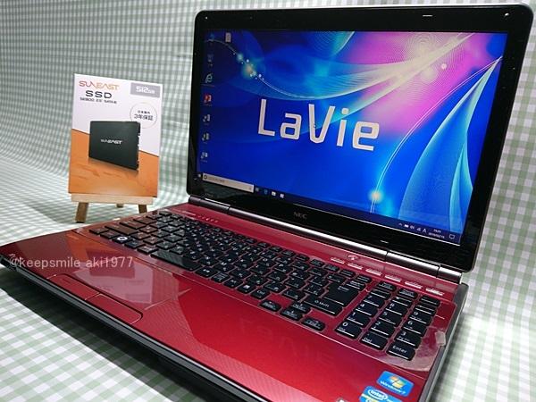 ★美品★ Core i7 【新品SSD】512G 【超快速仕様☆Windows10】NEC LL750/E PC-LL750ES6R メモリ8G BD-RE Office 高音質YAMAHA音源 1円~