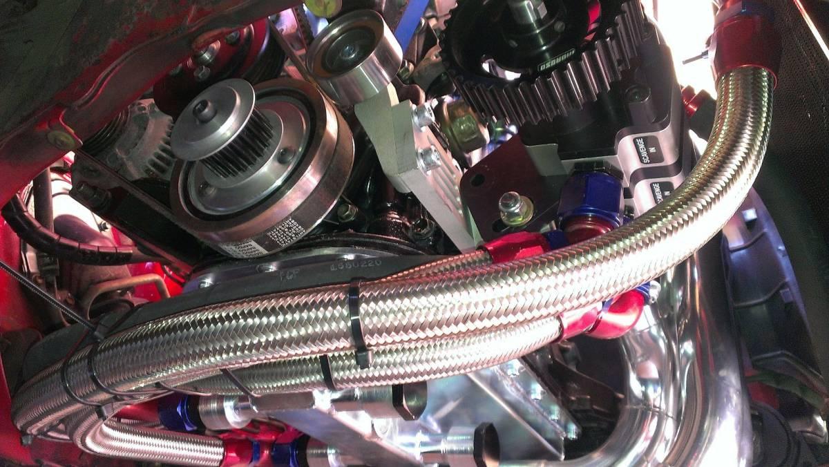 4AGドライサンプキット 4A-GE オイルポンプ 7AGE AE86 AW11 MR2 AE111 AE101 レビン トレノ マフラー エキマニ 5バルブ TRD カム エンジン_画像6
