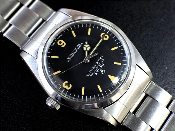 new concept ac97f fc63b ROLEX 1018□SPACE-DWELLER ダイアル・リベット7206・1966年 ...