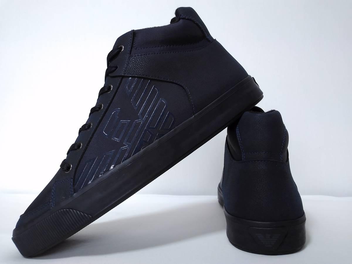 1f461e539 [ new goods ] EMPORIO ARMANI fake leather & canvas. [ men's * is ikatto