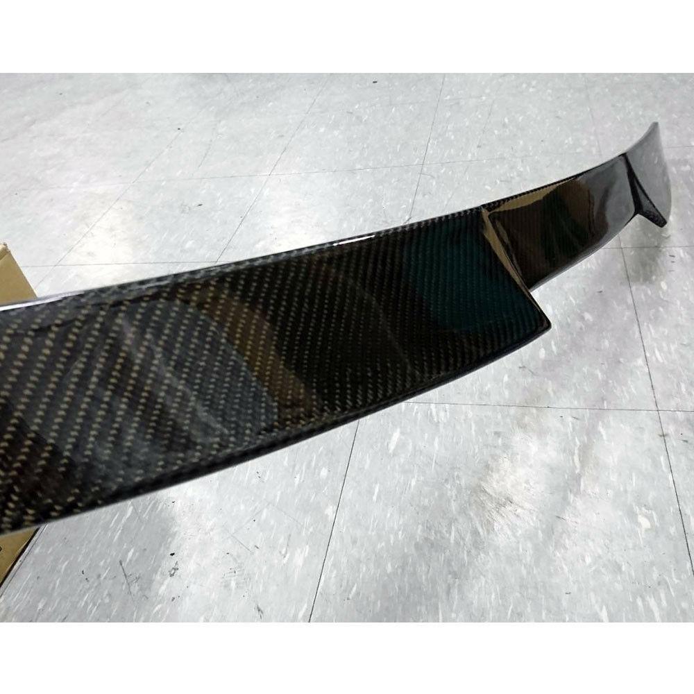 三菱 ランエボ X EVOX 10 カーボン リアルーフスポイラー 2008-2015 ランサー エボリューションX CZ4A V_画像4