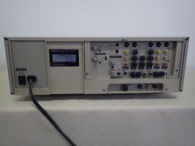 195【S.R】Victor/ビクター ビデオカセットレコーダー HR-Z1 S-VHS DA 元箱・リモコン UM-3 動作品 赤外線OK 取説付 ジャンク品 香川発_画像3