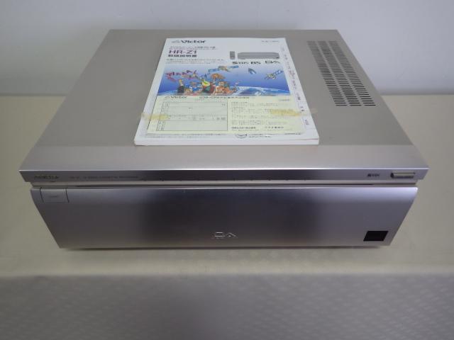 195【S.R】Victor/ビクター ビデオカセットレコーダー HR-Z1 S-VHS DA 元箱・リモコン UM-3 動作品 赤外線OK 取説付 ジャンク品 香川発